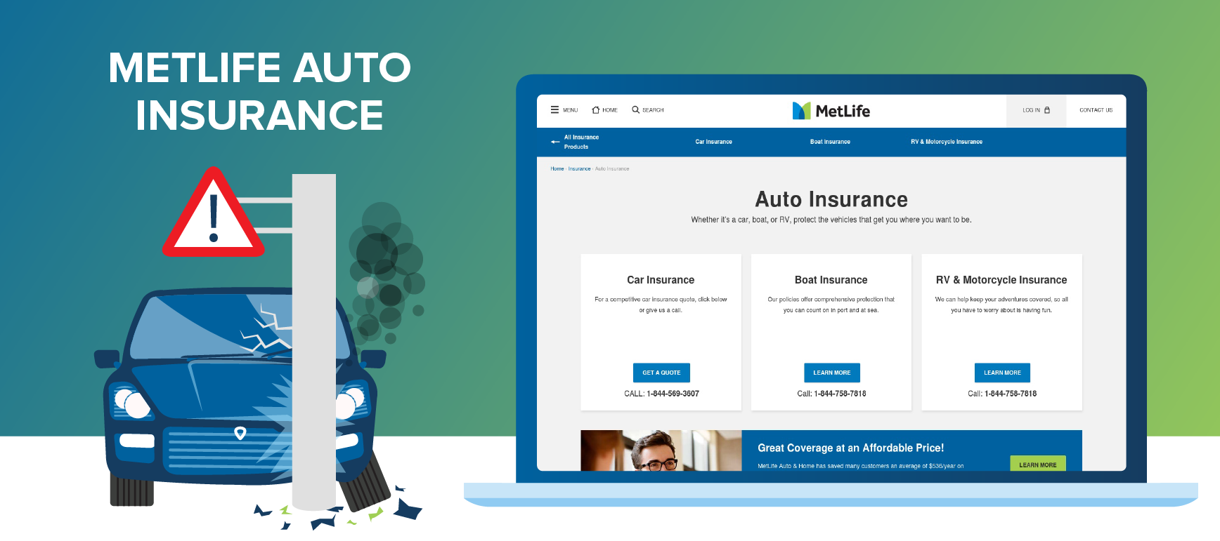 Auto Insurance Screenshot